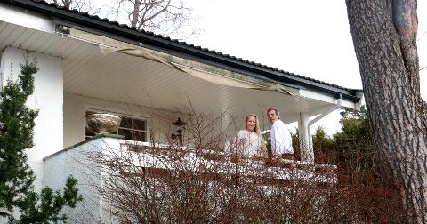 May-Britt Bjørk og samboeren ønsker å selge huset på Munkerudåsen privat.