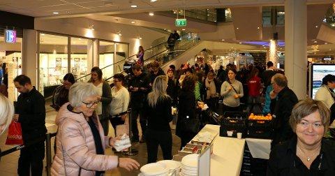 ETTERSPURT: Rafens er en av tre kjøkkenbutikker på Jekta. Disse opplever stor pågang i julehandelen og under salgsdager som Black Friday.
