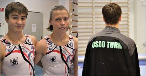 NY FORENING: Peder Funderud Skogvang og Kasper Sjøthun valgte bort Tromsø turnforening til fordel for Oslo turnforening. Her fra helgas stevne.