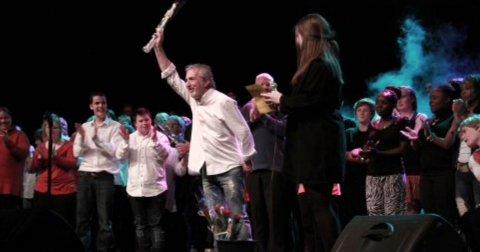 Teaterguru Paco Valls Garcia gjester Gjøvik og Korpus i forbindelse med 25 års jubileet til Korpus