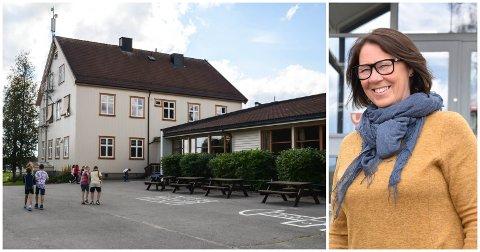 TRE SØKERE: Kommunalsjef May Birgit Kjeverud i Løten har motatt tre søknader til den ledige rektorstillingen på Jønsrud skole.