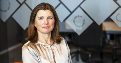 AVGÅTT DIREKTØR: Nina Schanke Funnemark.