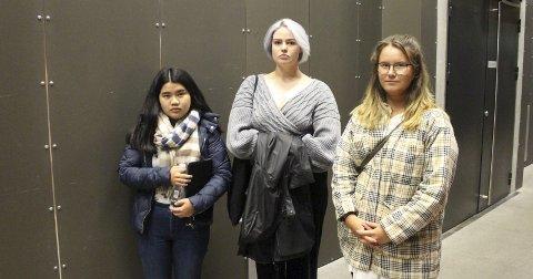 PÅ ANDREPLASS: Vilde Athena Berg-Nilsen (i midten).