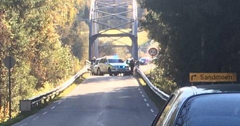 STOPP: Biltyven kjørte fra Hønefoss og nesten til Dokka før han ble stoppet av politiet.