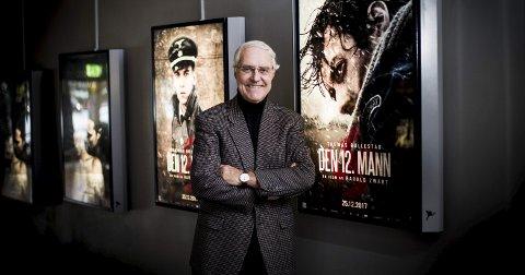 Tore Haug har ikke bare skrevet boka om «Den 12. mann». Han har også vært involvert i innspillingen av filmen. FOTO: LISBETH LUND ANDRESEN