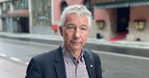 Pål N. Arnesen, leder YS Stat, er fornøyd etter en tøff mekling. Foto: YS