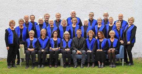 LOKALT: Bugården Menighetskor er selvsagt med i egen kirkekonsert.