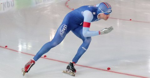 MISTET NM-BRONSE: Askimingen Jørgen Sæves fra Båstad IL lå soleklart an til tredjeplass i bronsemedalje i sprint-NM da han dessverre falt og mistet alle muligheter for en topplassering i sesongavslutningen. ARKIVFOTO