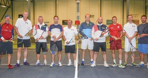 OPPRYKK: Svelvik Tennisklubb møtte for første gang seg selv i seriespill andre og tredjelaget møttes i 4. divisjon Arkivfoto.
