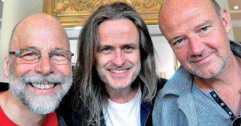 HOT NAVN: Per Jørgensen (f.v.), Audun Kleive og Jon Balke kom sammen igjen etter en forepørsel fra Vossajazz i 2011. Foto:NTB