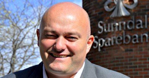 Sunndal Sparebank etablerer avdelingskontor i Kristiansund. Her adm. banksjef Jonny Engdahl.