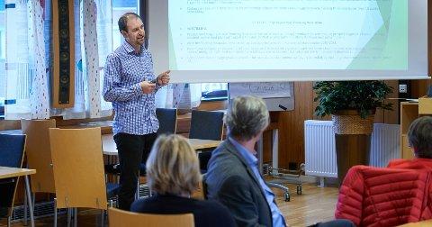 VIL VÆRE SYNLIG: Frode Kvittem er tilsatt som ny oppvekst- og velferdsdirektør hos Statsforvalteren. 46-åringen ser fram til å starte i sin nye jobb 1. juni.