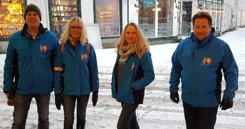 Styret i Uke9 har besluttet å avlyse festivalen i år.  Fv  Ole Jonas Kverndal, May Gunn Stokk, May Zwilgmeyer og Frode Kirkeli.