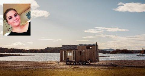 PERNILLES HÅP: Pernille Aaland vil gjerne flytte tilbake til Drøbak. Siden hun gjerne vil eie noe selv er et mikrohus håpet hennes.