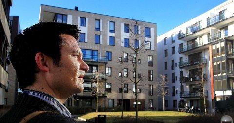 LUKSUSGODE: – Et godt nabolag er mer verdt når det er gode enn dårlige tider, sier Roger Bjørnstad, sjeføkonom i Samfunnsøkonomisk analyse.