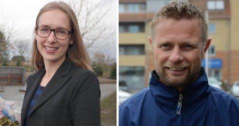 Ministere: Iselin Nybø (t.v.) og Bent Høie.