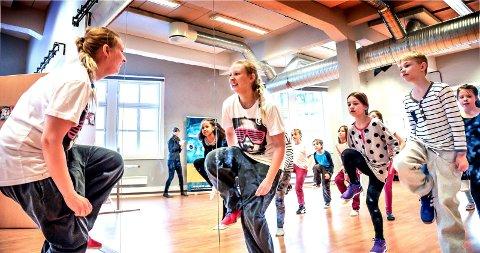 DANS: Kulturskolen underviser blant annet i dans. Her fra øvelse til oppsetningen av «Jungelboken» i 2015.
