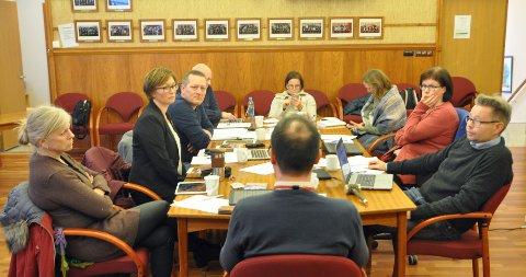 RÅDHUSSALEN: Det var formannskapsmøte i Nordkapp kommune tirsdag 22. oktober.