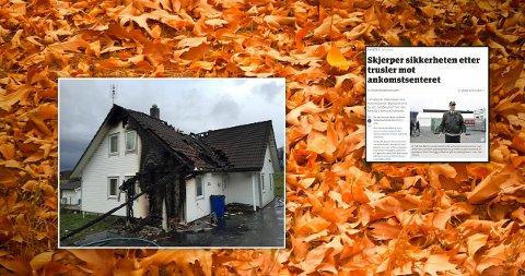 Brann og branntrussel: Ildspåsettelsen i Ulstein og trusselen om å brenne ned ankomstsenteret i Råde er bakgrunn for Marte Johannse Lie Bjerkes kronikk.