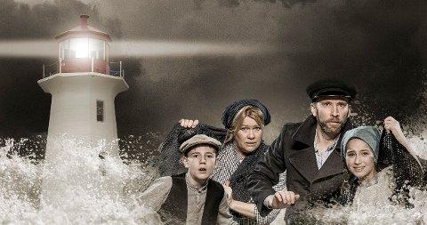 Monica Hjelle, Erik André Hvidtsen, Johanne Pettersen og Henrik Mogen har alle sentrale roller i den nyskrevne musikalen «Fyret».