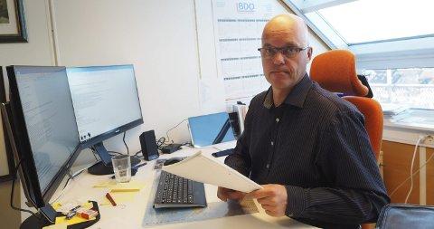 UTFORDRING: Lederen i Narvikregionen Næringsforening, Kjetil Moe, mener at man ikke kan vente på at noe skal skje. - Det kan ikke vente, sier han.    Arkivfoto.