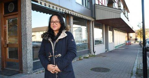 Nytt levebrød: Annalyn Gutuen starter massasjeterapi i Moelv sentrum.
