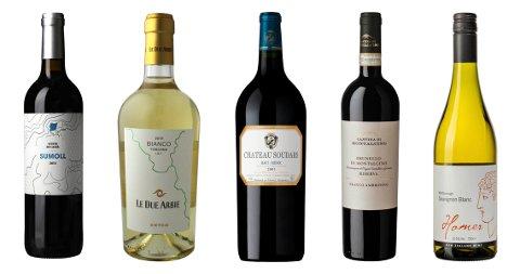 PRISKUTT: I oktober kuttes prisen på en rekke varer på polet, blant annet disse fem fantastiske vinene.