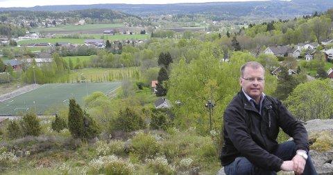SKJØNNER IKKE : – Moss er ikke mer sentralt enn Halden, mener Roar Lund (H).