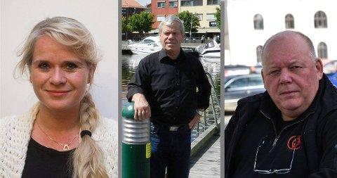 MELDE SEG UT: Annette Farmann, Svein Olaussen og Per Kristian Dahl valgte å melde seg ut av Halden Arbeiderparti på grunn av uenighet og fronter innad i partiet. – «Oppvaskmøtet» i slutten av mai vitner om et usikkert parti som ikke har funnet en vei å gå, skriver Tormod R. Ausland.