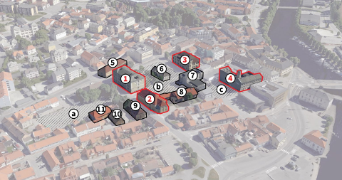 Halden kommune har blinket seg ut en del bygninger og et område som de ønsker innspill på hva kan brukes til og gjøres med.