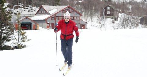 God driv: Ingvald Torkelsen har delteke i rennet 12 gonger, og hadde god driv ut frå start.