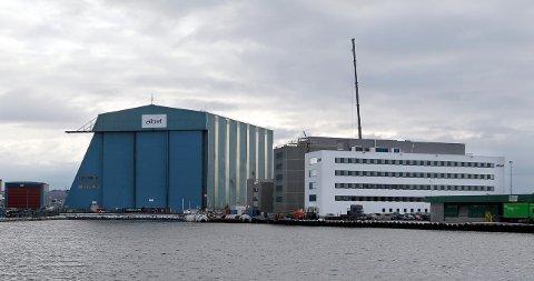 JOBBEN GJØRES HER: Arbeidet vil bli utført i Haugesund, men prosjektet styres fra Oslo.