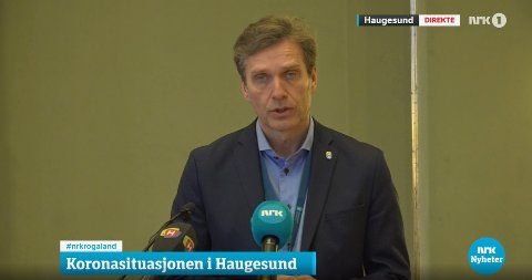 INFORMERTE: Kommunedirektør Ole Bernt Thorbjørnsen i Haugesund kommune.