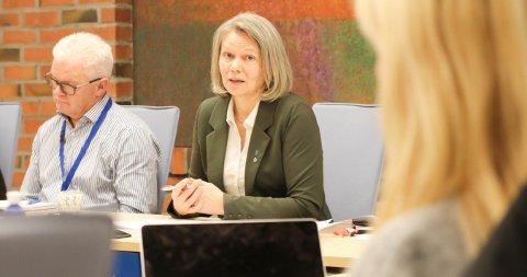 SP-TOPP: Anne Sand er varaordfører i Vestvågøy kommune i dag.