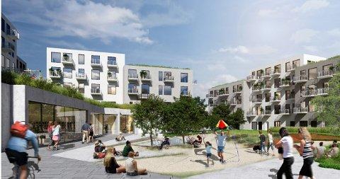 Privat?: Det planlagte kvartalet har  lite eller intet å tilby fellesskapet – anleggene fremstår ofte som «Privat med Adgang», skriver arkitekt Rolf Aamodt.
