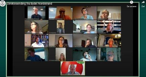 Bydelsutvalget på Nordstrand møttes for siste gang før ferien 17. juni.