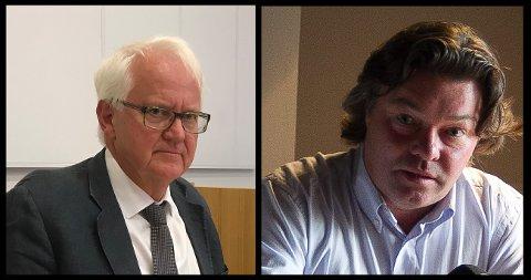 KRITISK: Bostyrer Cato Johannessen (t.v.) er svært kritisk til Stig Atle Johnsens forretningsførsel i det konkursrammede selskapet hans.