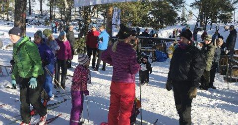 HOVEDPERSONENE: Det er barna som er hovedpersonene i løypa når Skiforeningen arrangerer Barnas Holmenkolldag på Vesledammen.