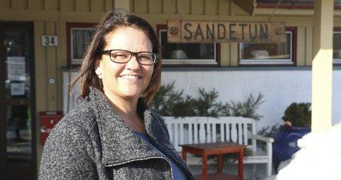 Ny frisør på plass: Kari Lene Benterud åpner frisørsalong på Sandetun. Foto: Hege Frostad Dahle