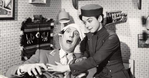 Unni Bernhoft som spilte i den originale «Fjols til fjells»-filmen fra 1957 kommer til Mysen i anledning premieren på nyinnspillingen.