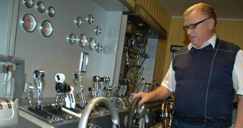 Sigmund Jørgensen startet opp den maritimt rettede bedriften Sea-Tek i 1978. Her er han avbildet i 2010. I dag drives selskapet av sønnen Stephan Alf Jørgensen.