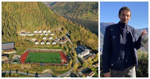 ELEVTAL: Frode Bøthun, rektor ved Sygna vidaregåande skule gler seg over at dei denne hausten har hatt ei positiv auke i elevtalet sitt