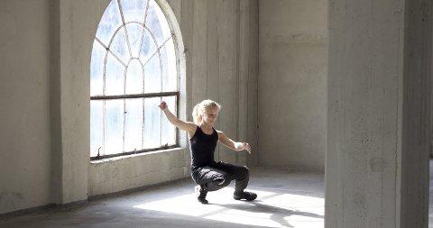 HALLING: Det ble filmet blant annet i Hydroparken til Vilde Westengs film «Med hjertet i dansen». begge foto: Sant & Usant