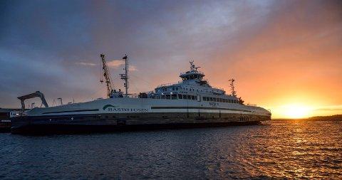 SOMMER: Bastø Fosen starter med sommeruter fra og med mandag 18. juni.