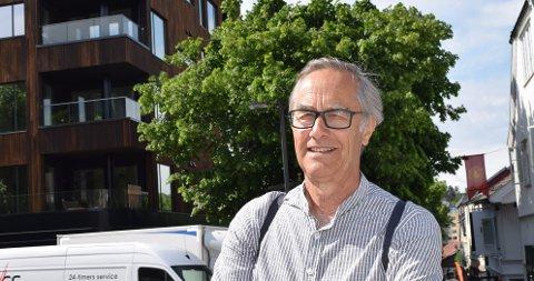 ARTIKKELFORFATTER Øyvind Løken er arkitekt, og har jobbet med planer for Tønsberg kommune i mange år.