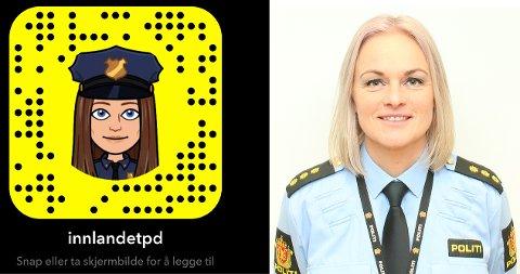 SOME: Politiet ønsker tettere dialog med ungdommen i Innlandet politidistrikt i forbindelse med koronaviruset. Politiet har derfor økt aktiviteten på politiets kontoer i sosiale medier, opplyser politibetjent Hege Iren Skjønsberg Fossum.