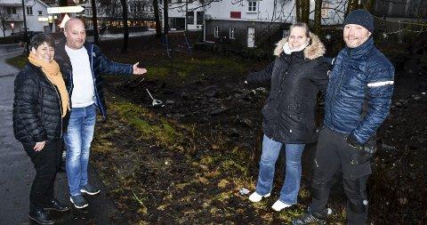 Trine og Tor Gunnar Espeland og Odd Rune Espeland og Helen Salte Espeland som utgjør Hott Eiendom, har kommet med innspill til kommunedelplanen i Tvedestrand.