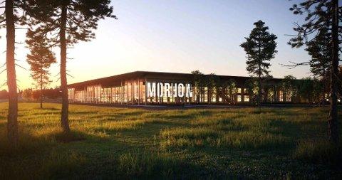 Morrow Batteries: Bygger gigantisk batterifabrikk i Arendal, like ved grensa til Tvedestrand. Fabrikken er forventet å gi 2.500 arbeidsplasser.
