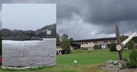 SNØ OG MINUSGRADER: Bildet vitner om vinterlige forhold i Tronfjell på søndag. Natt til mandag ble det målt minusgrader i Folldal.
