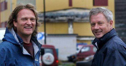 Even Carlsen og Benn Eidissen - her fotografert ved en tidligere anledning.